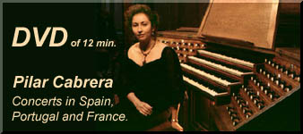 PILAR CABRERA during 10 min.   playing five different instruments.